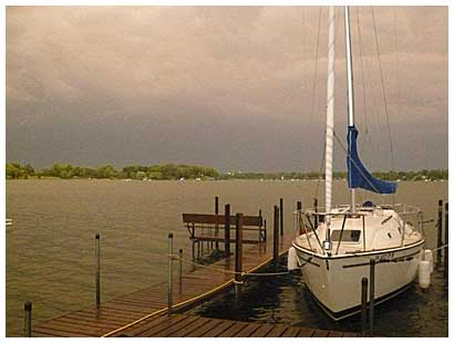 Our new Pearson 27 sailboat now available to qualified Northern Breezes Boat ...